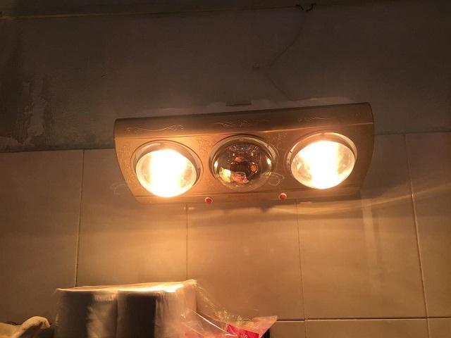 Đèn sưởi nhà tắm