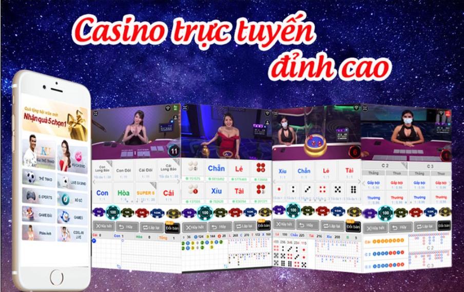 Casino trực tuyến đỉnh cao của Thabet